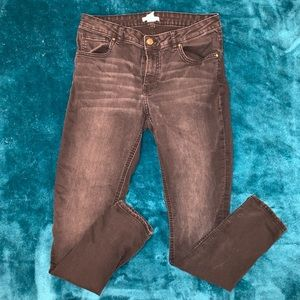 H&M charcoal gray jeans